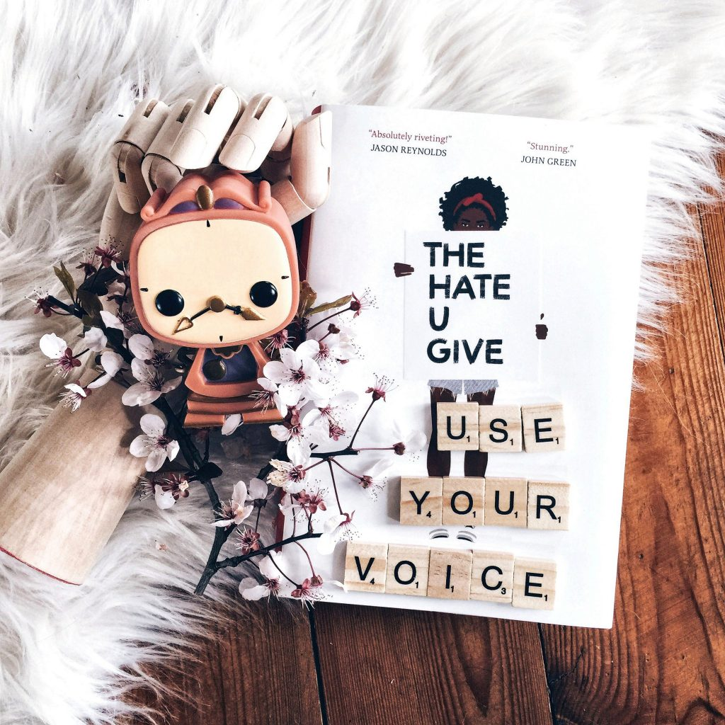 "Rezension Angie Thomas- ""The Hate U Give"""