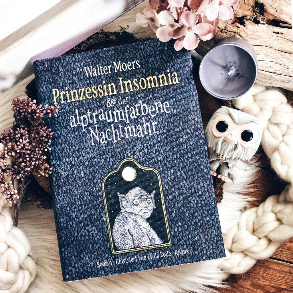 """Rezension Walter Moers – """"Prinzessin Insomnia & der alptraumfarbene Nachtmahr"""""""