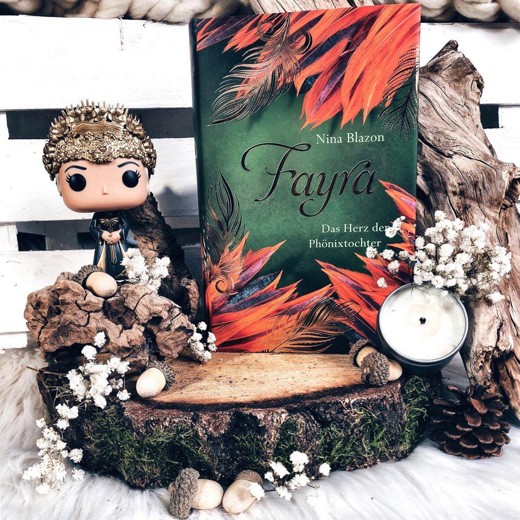 Rezension Nina Blazon – Fayra – Das Herz der Phönixtochter