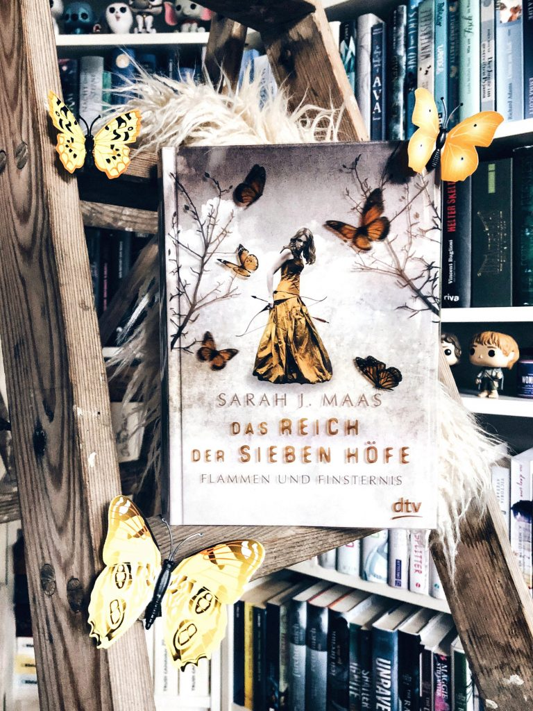 Rezension Sarah J. Maas – Das Reich der sieben Höfe. Flammen und Finsternis