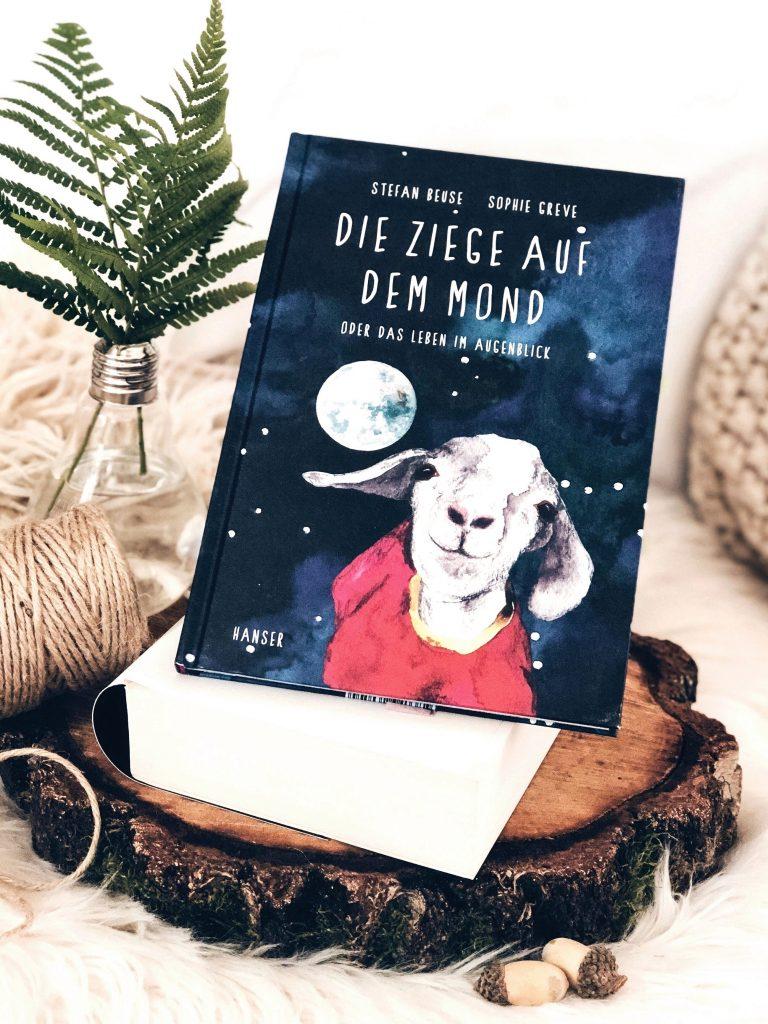 Rezension Stefan Beuse & Sophie Greve – Die Ziege auf dem Mond: Oder das Leben im Augenblick