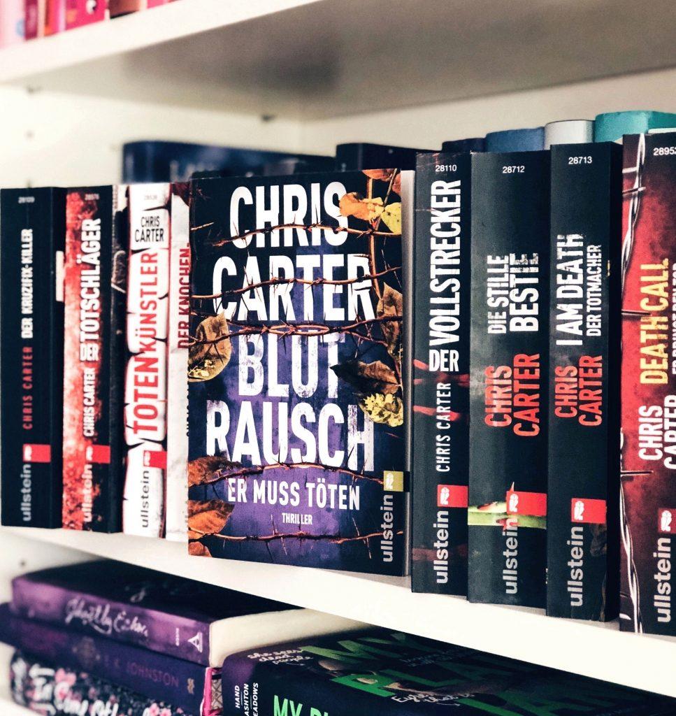 Rezension Chris Carter – Blutrausch: Er muss töten ( Ein Hunter und Garcia Thriller 9) Autor: Chris Carter