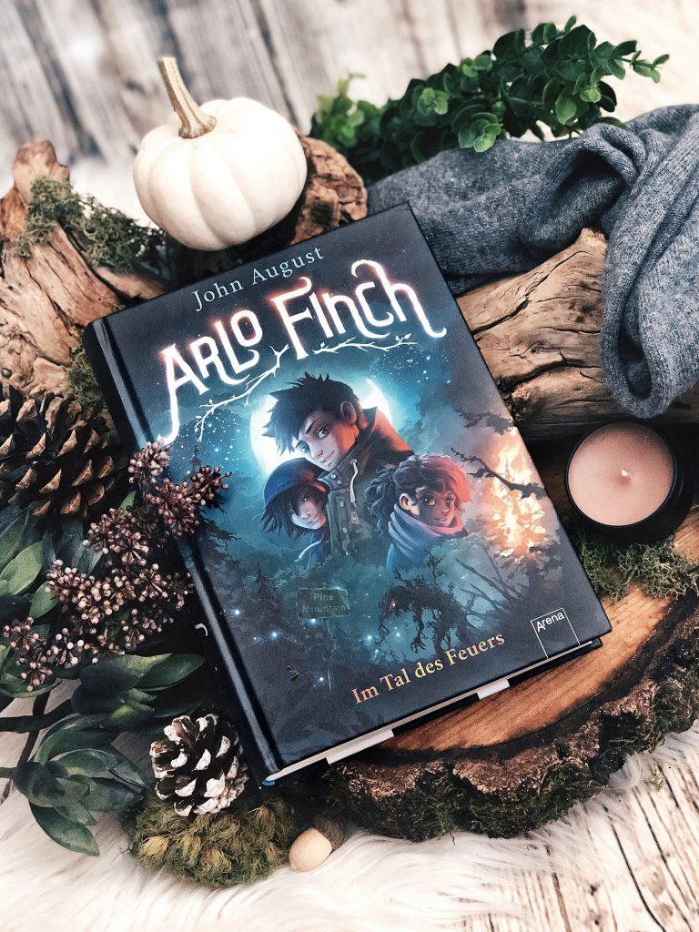 Rezension John August – Arlo Finch: Im Tal des Feuers (1)