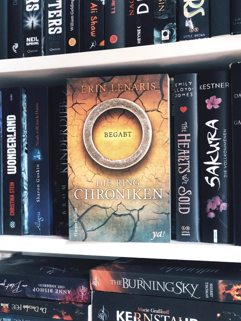 Rezension Erin Lenaris – Die Ring-Chroniken – Begabt