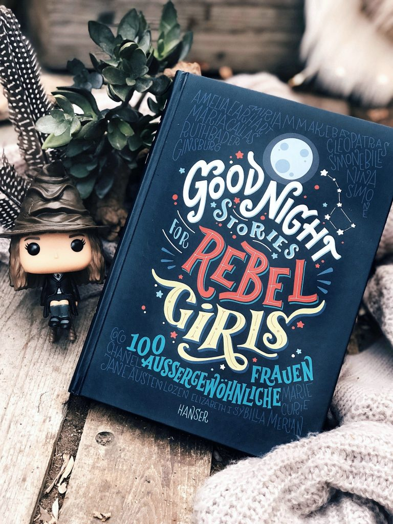 Rezension Elena Favilli und Francesca Cavallo – Good Night Stories for Rebel Girls