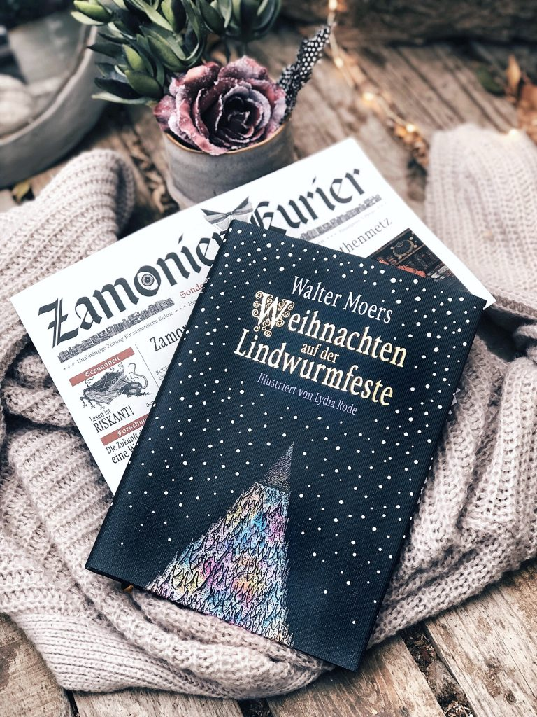 Rezension Walter Moers – Weihnachten auf der Lindwurmfeste