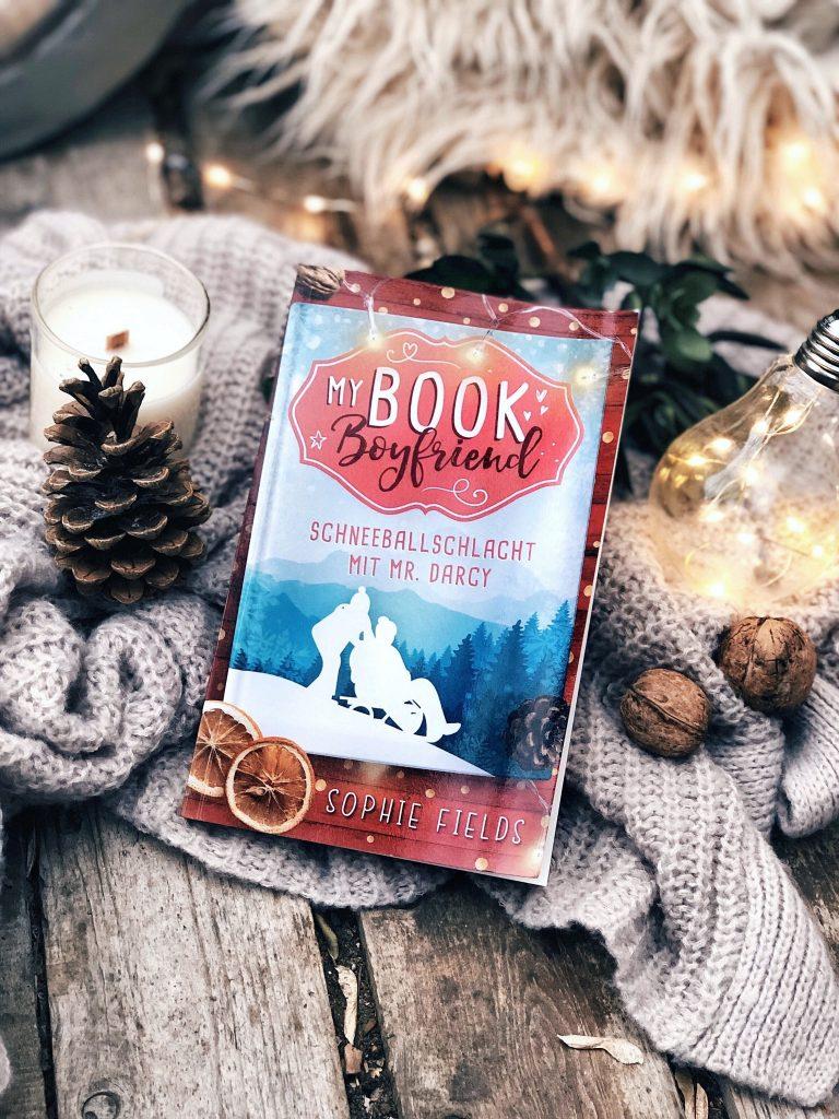 Rezension  Sophie Fields – My Book Boyfriend: Schneeballschlacht mit Mr. Darcy