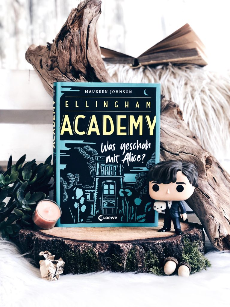 Rezension  Maureen Johnson – Ellingham Academy: Was geschah mit Alice?