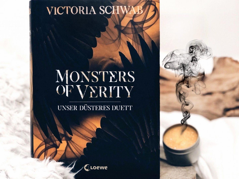 Rezension  Victoria Schwab – Monsters of Verity: Unser düsteres Duett