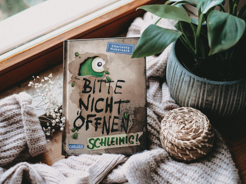 Rezension Charlotte Habersack – Bitte nicht öffnen 2: Schleimig