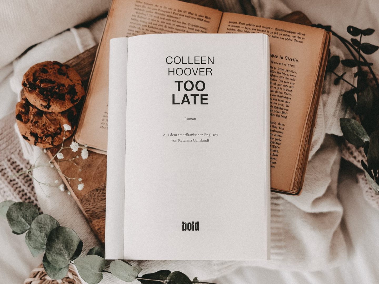 Rezension Colleen Hoover – Too Late