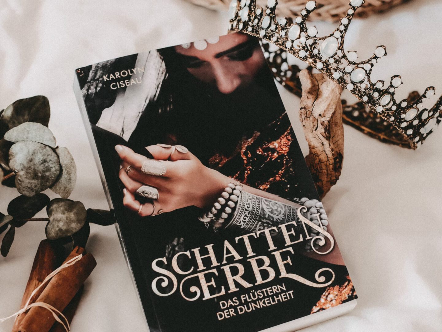 Rezension Karolyn Ciseau – Schattenerbe