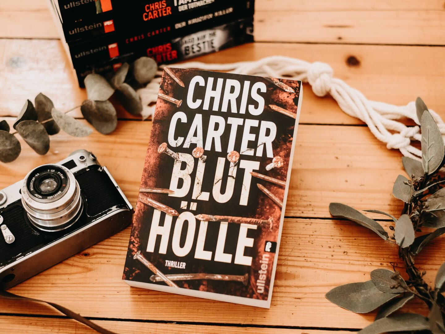 Rezension Chris Carter – Bluthölle: Ein Hunter und Garcia Thriller #11