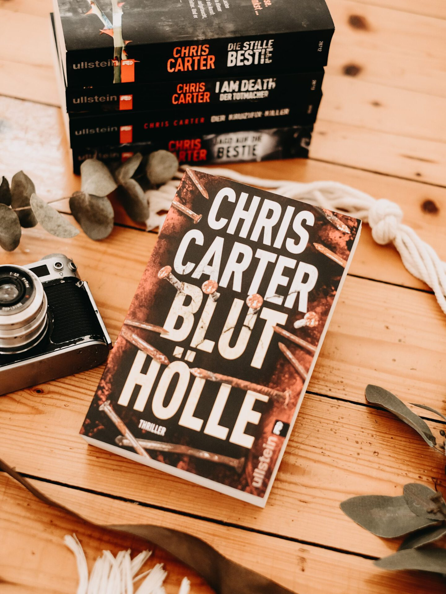 Chris Carter Reihenfolge