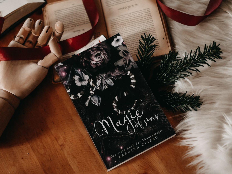 Rezension Karolyn Ciseau – Magic of Sins: Das erste Buch der Sündenmagie