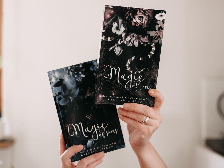 Rezension Karolyn Ciseau – Magic of Sins: Das zweite Buch der Sündenmagie